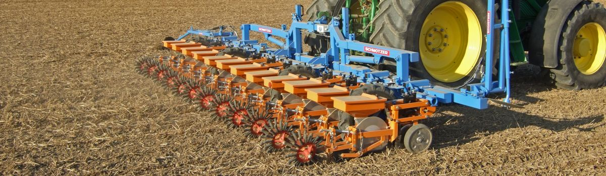 Single grain seed drill UD 3000